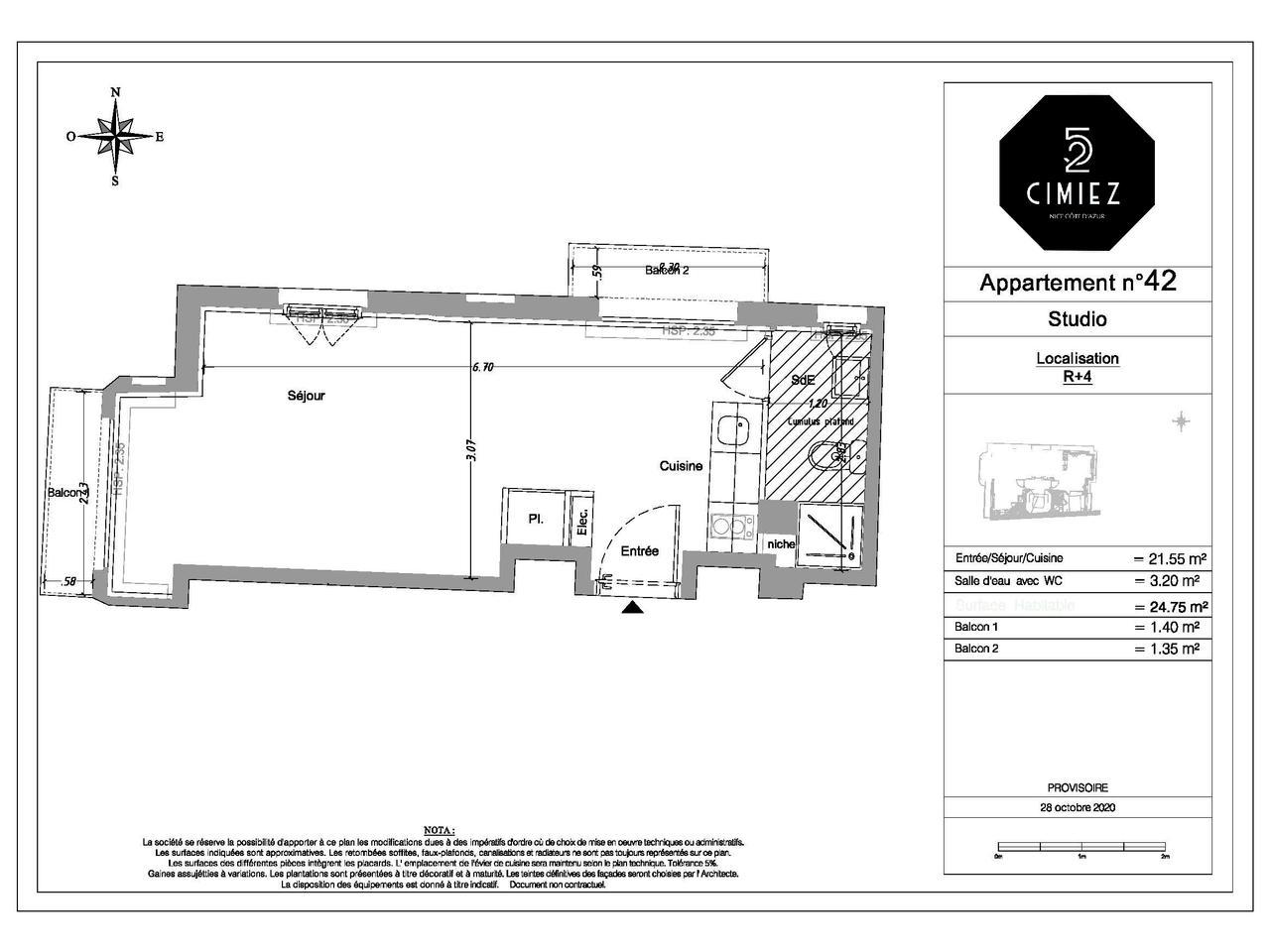 Boulevard de Cimiez 52, Nice, 1 Bedroom Bedrooms, ,1 BathroomBathrooms,Lägenheter,Till salu,Boulevard de Cimiez,1216